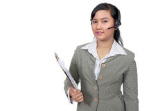 Costumer Service Agent Royalty Free Stock Photography