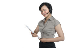 Costumer Service Agent Stock Image