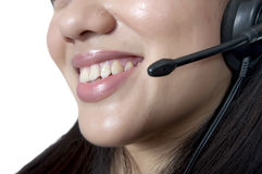 Costumer Service Agent Royalty Free Stock Photo