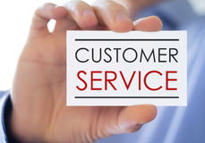 Costumer service Royalty Free Stock Image