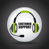 Costumer support Stock Photos