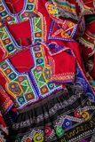 Costumes from Cuzco used for dance called Valicha, Peru, South America Royalty Free Stock Photos