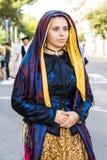 Costumes de la Sardaigne Image libre de droits