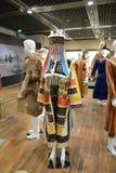 Costumes de minorité de la Chine du nord-ouest Photos libres de droits