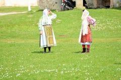 Costumes de Traditionals de Roumanie Photographie stock