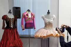 Costumes for Don Quixote by Jerome Kaplan Royalty Free Stock Photo
