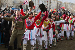 Costumes e tradições ancestrais do festival Imagens de Stock