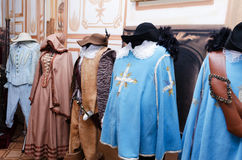 Costumes Musketeers Royalty Free Stock Images
