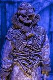 Costumes originaux des acteurs et des appui verticaux du ` The Game de film du ` de trônes dans les lieux du musée maritime de Ba Photo stock