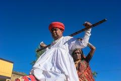 Costumes rurais, Índia Foto de Stock