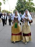 Costumes of Sardinia Royalty Free Stock Photos