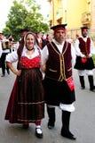Costumes of Sardinia Stock Photography