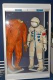 Costumes spéciaux des astronautes Images libres de droits