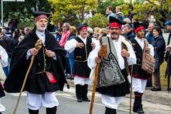 Costumes traditionnels sardes Images libres de droits