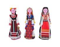 Costumi da etnografico differente Fotografie Stock