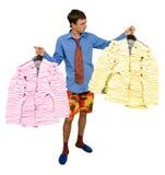 Costumi dagli autoadesivi Immagine Stock