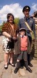 Costumi di Haworth Fotografia Stock