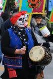 Costumi di scheletro Fotografia Stock