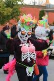 Costumi di scheletro Fotografia Stock Libera da Diritti