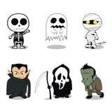 Costumi svegli del fantasma di Halloween royalty illustrazione gratis
