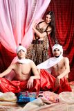 Costumi tradizionali Fotografia Stock