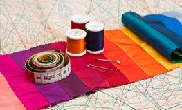 Costura. Imágenes de archivo libres de regalías
