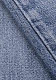Costura de los pantalones vaqueros Foto de archivo libre de regalías