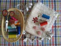 Costura e bordado Fotos de Stock
