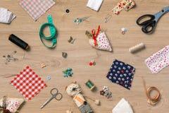 A costura objeta o papel de parede Fotos de Stock