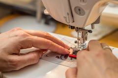 Costura y el hacer a mano Fotografía de archivo