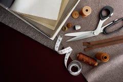 Costurando ferramentas Foto de Stock Royalty Free