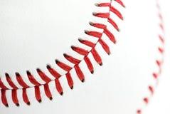 Costuras del béisbol imágenes de archivo libres de regalías