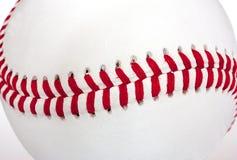 Costuras del béisbol Fotografía de archivo libre de regalías