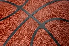 Costuras del baloncesto Foto de archivo