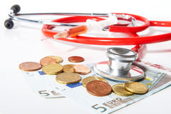 Costy doctor Royalty Free Stock Images