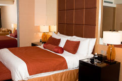 cosy гостиничный номер стоковое изображение rf