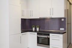 Cosy квартира - кухня стоковое фото