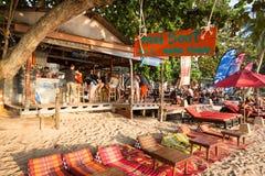 Cosy beach bar at Koh Tao`s popular Sairee Beach