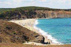 Cosy beach Bay Stock Photo