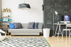 Cosy and comfortable kid`s room Royalty Free Stock Photos