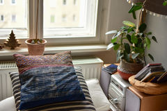 A cosy corner in a house Stock Photography