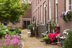 Cosy courtyard Royalty Free Stock Images