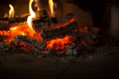 Cosy fire place at home. Warm house. Cosy fire place at home. Fire background. Warm house royalty free stock photos