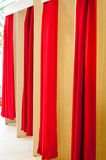 Cosy fitting rooms Royalty Free Stock Images
