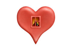 Cosy heart 2 Royalty Free Stock Image