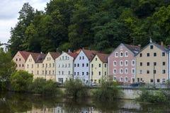 Cosy housses w Passau obraz royalty free
