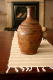 Cosy interior with urn Stock Images