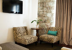 Cosy living room Royalty Free Stock Photos