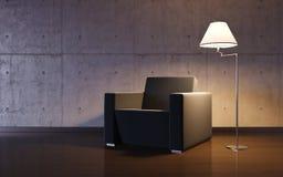 Cosy minimalism interior Royalty Free Stock Photo
