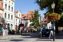 A cosy nook in Naumburg; Saxony-Anhalt, Germany Stock Photo